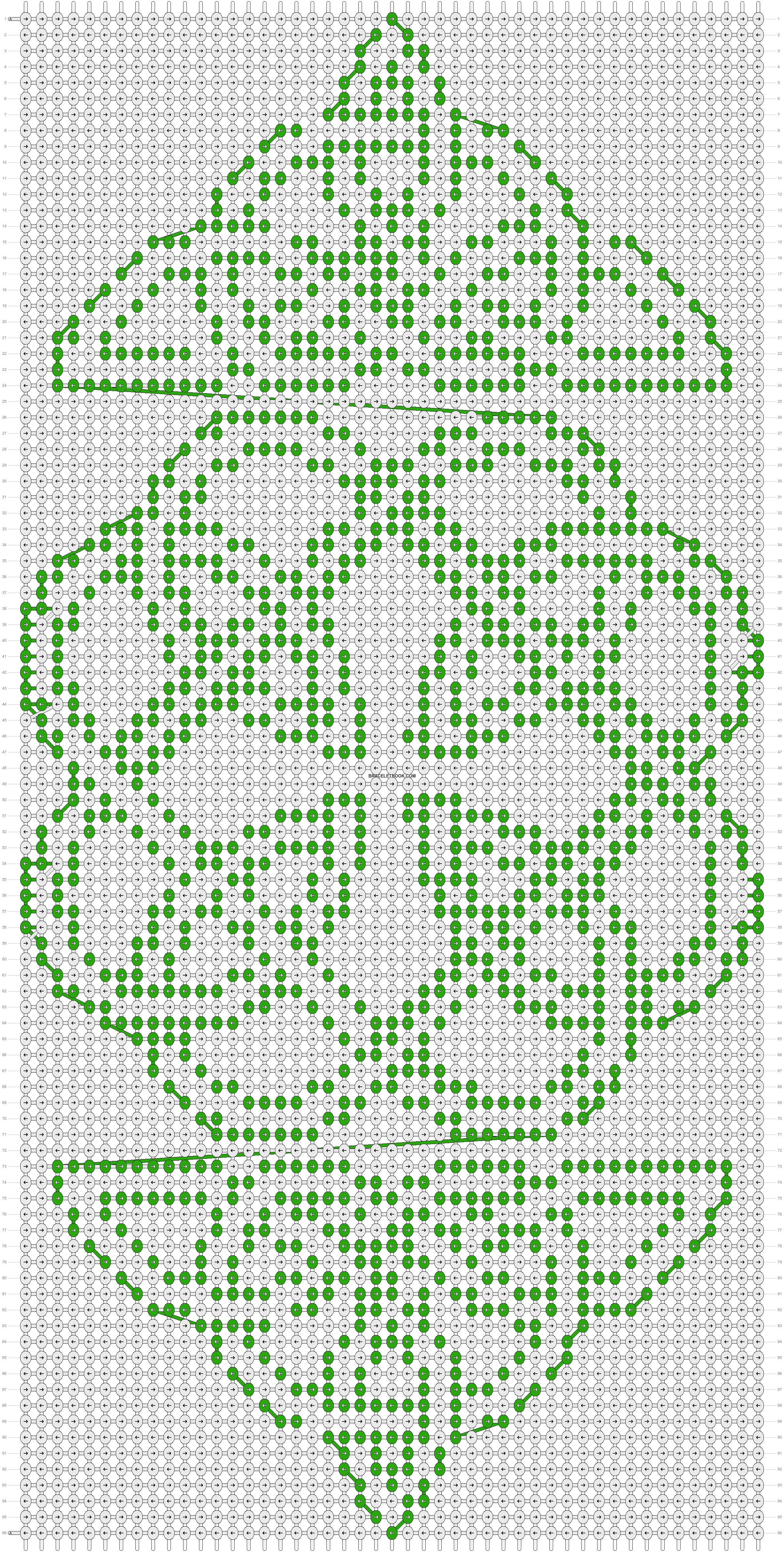 Alpha pattern #20587 pattern
