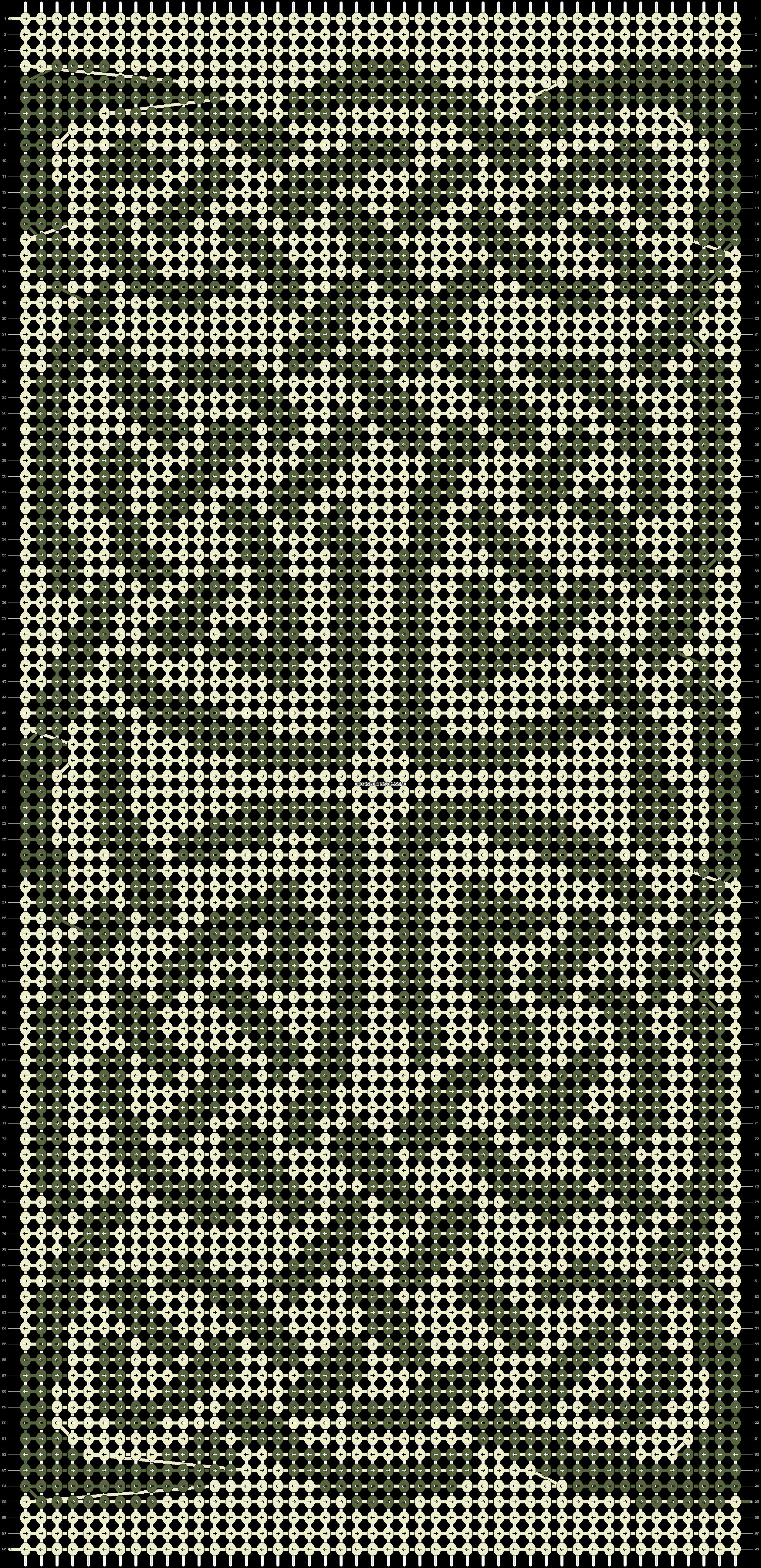 Alpha pattern #20588 pattern