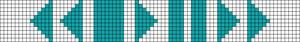 Alpha Friendship Bracelet Pattern #20590