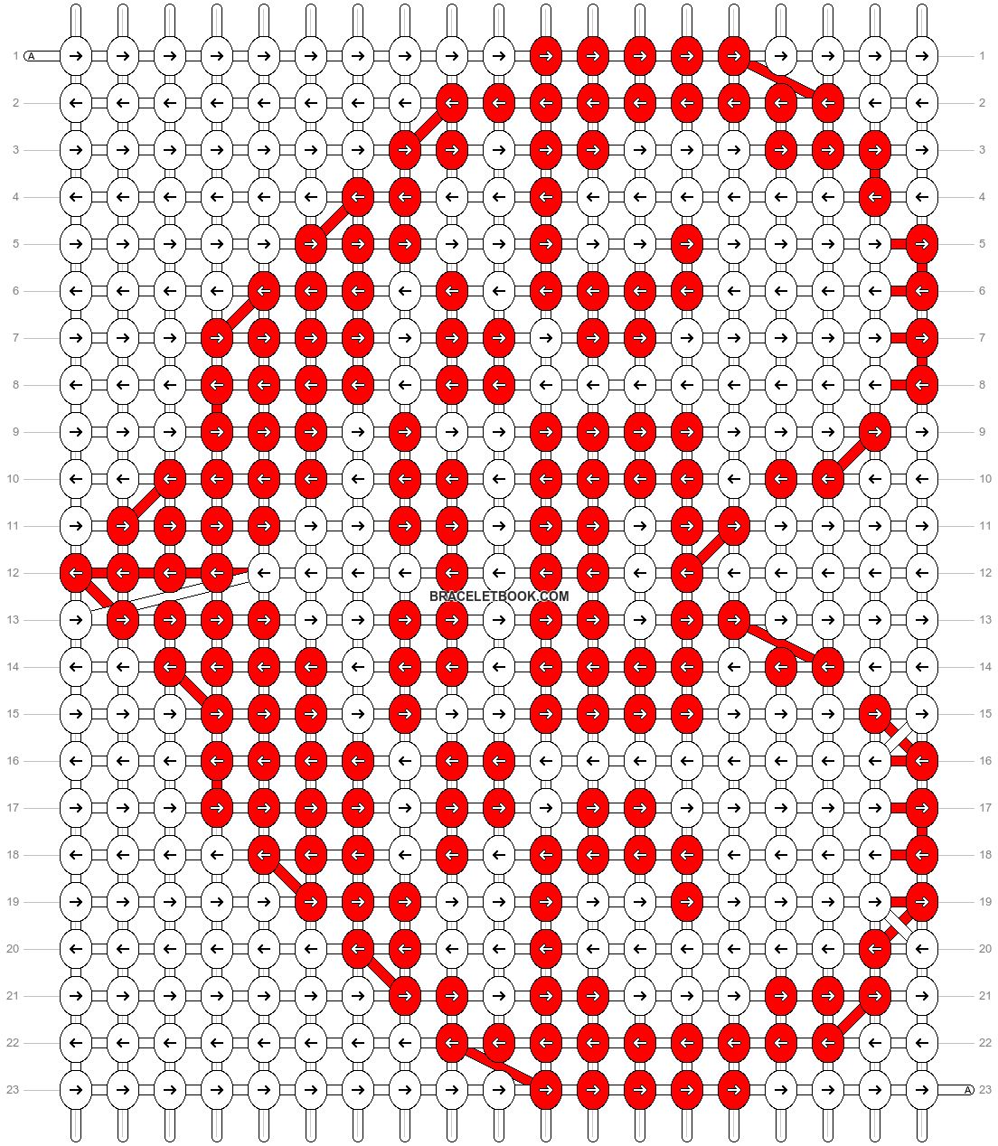 Alpha pattern #20594 pattern