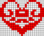 Alpha Friendship Bracelet Pattern #20594