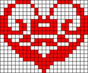 Alpha pattern #20594