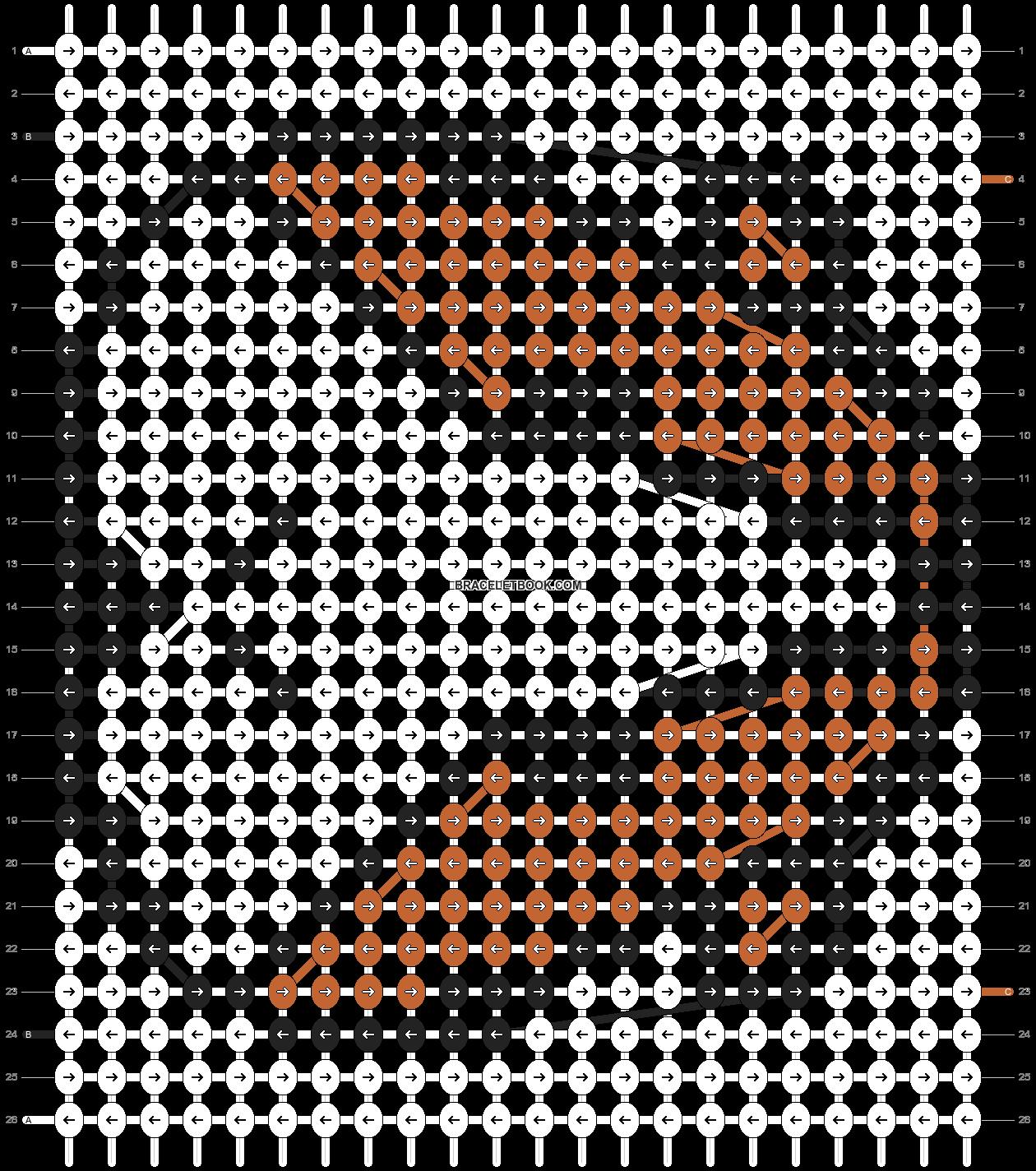 Alpha pattern #20598 pattern