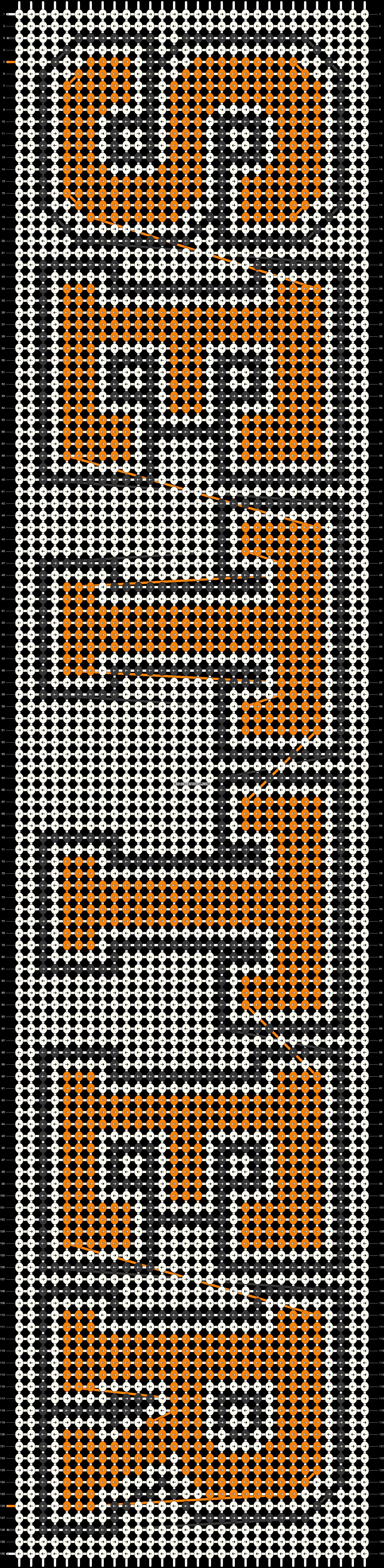 Alpha pattern #20599 pattern