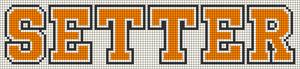 Alpha pattern #20599
