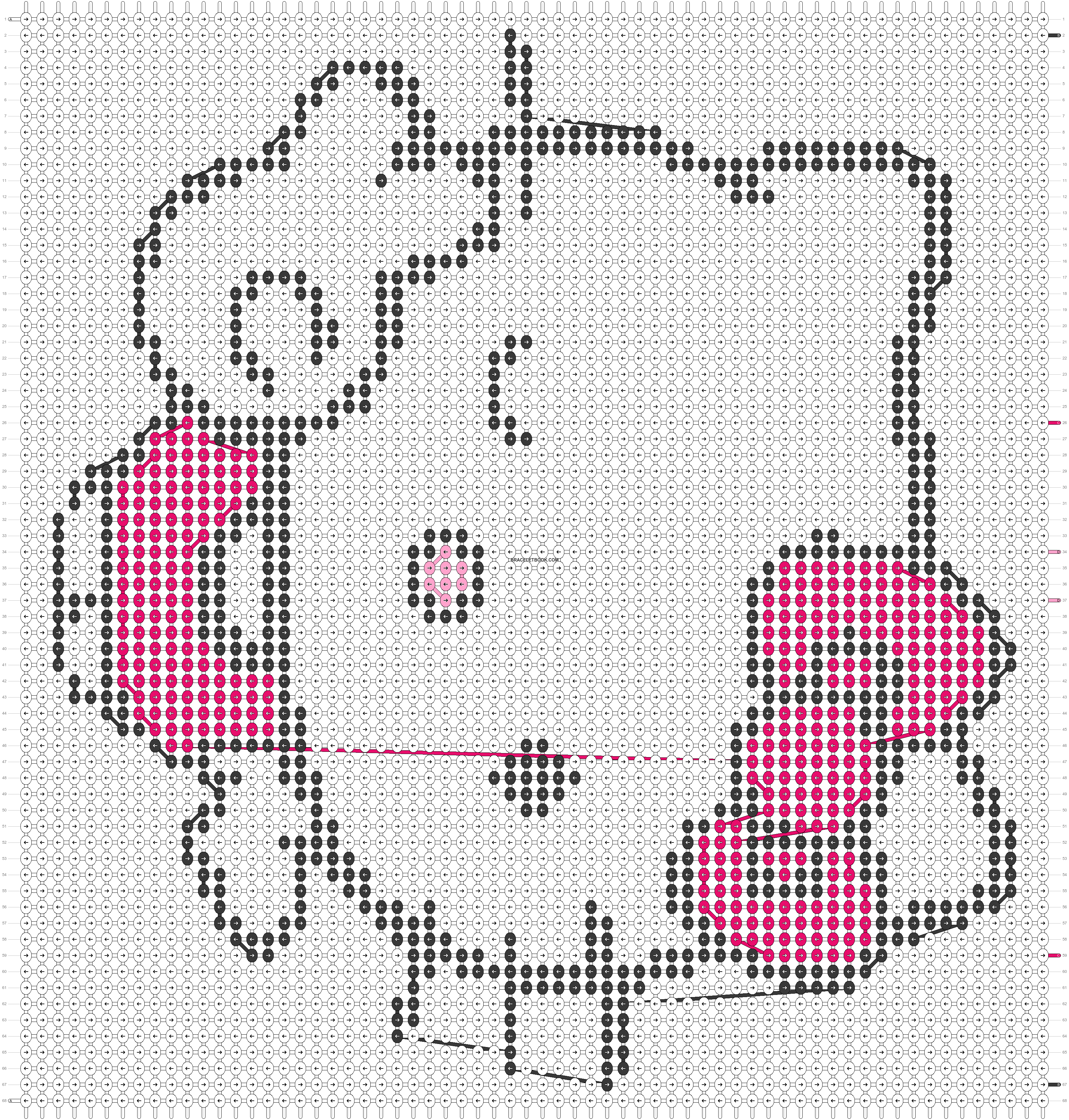 Alpha pattern #20602 pattern