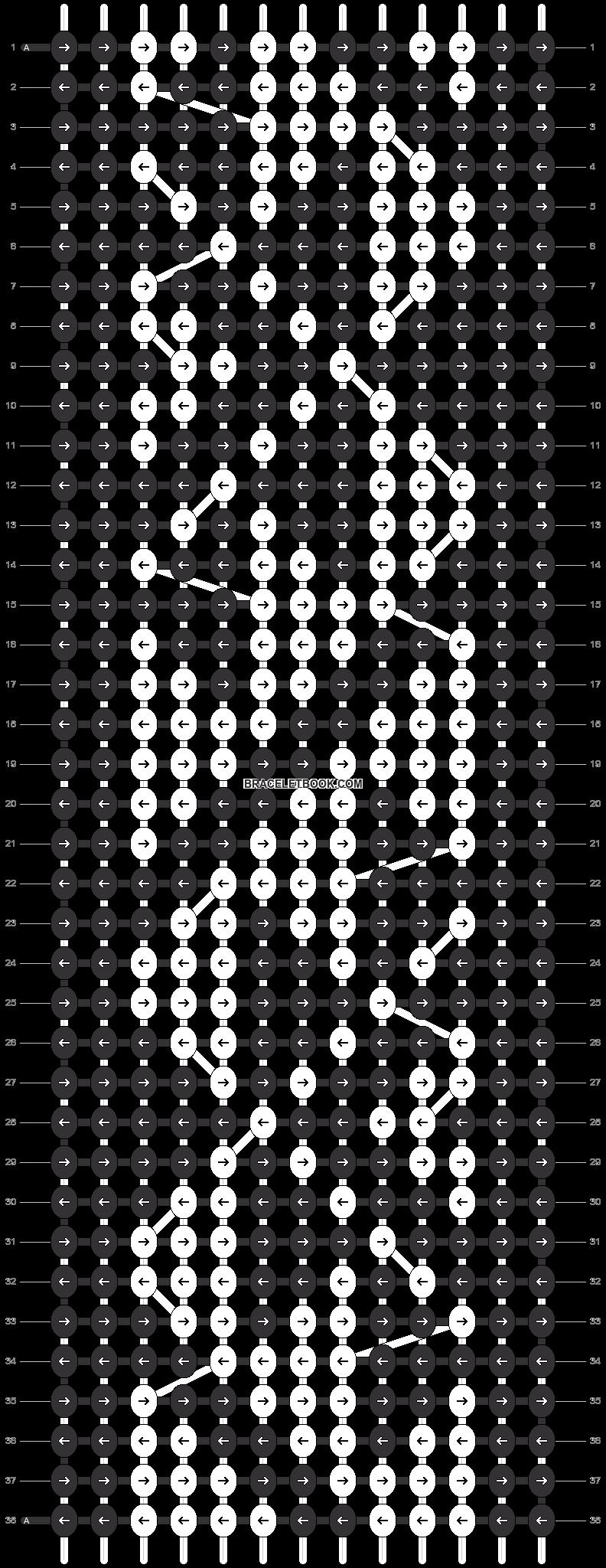 Alpha pattern #20611 pattern
