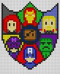 Alpha Friendship Bracelet Pattern #20615