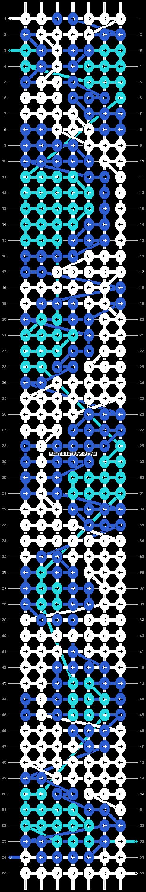 Alpha pattern #20620 pattern