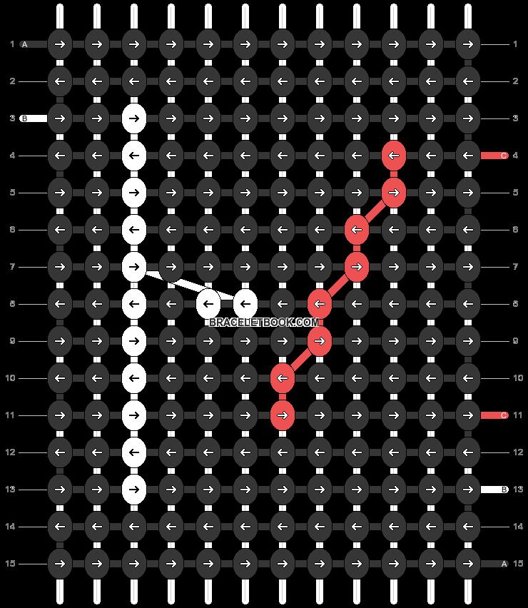 Alpha pattern #20628 pattern