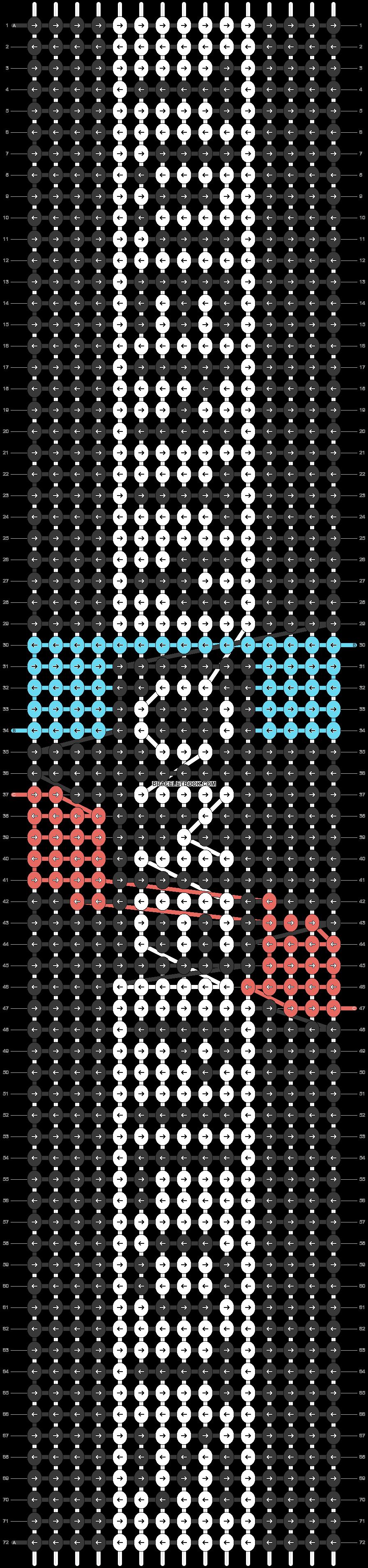 Alpha pattern #20629 pattern