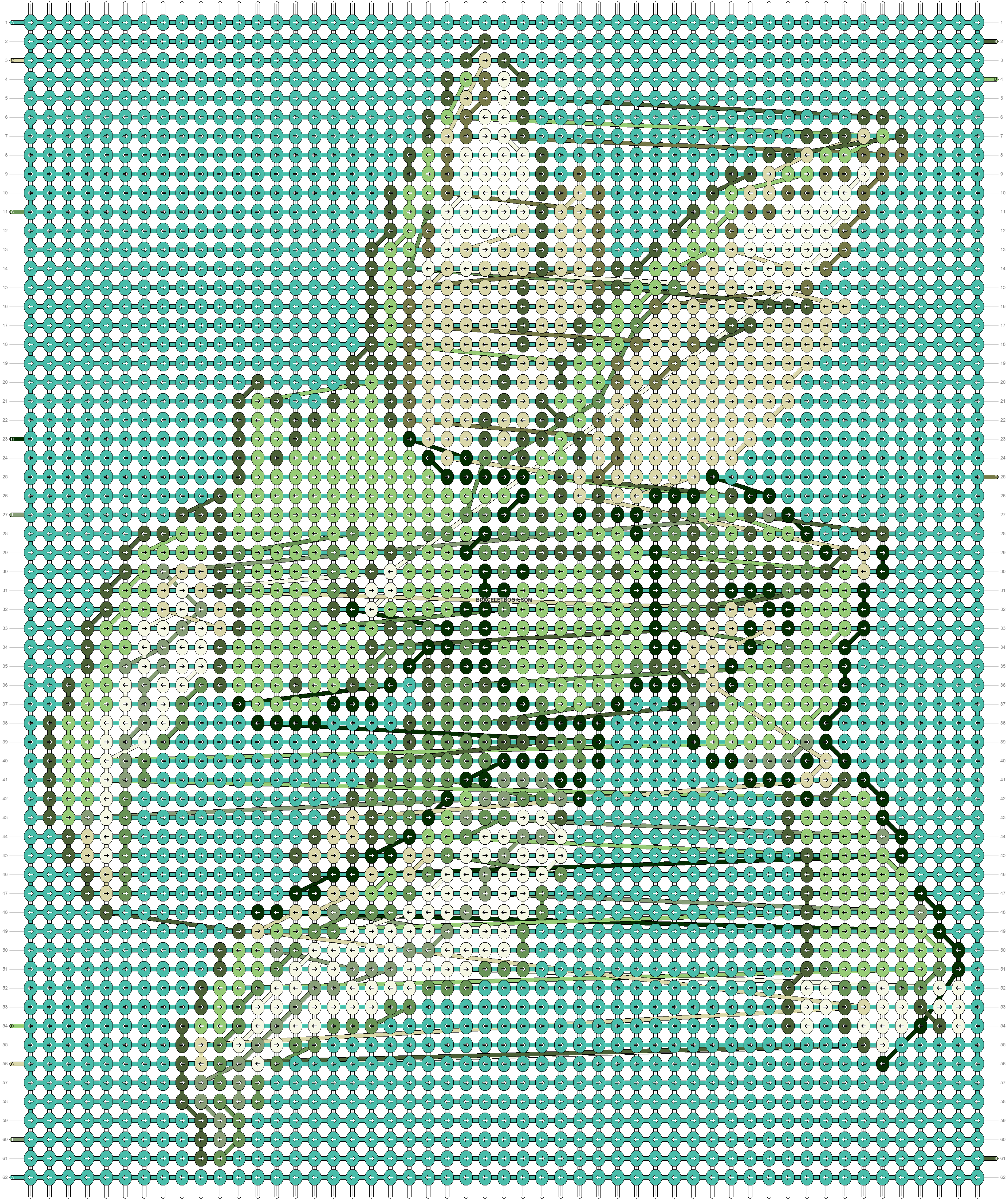 Alpha pattern #20633 pattern