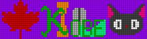 Alpha Friendship Bracelet Pattern #20643