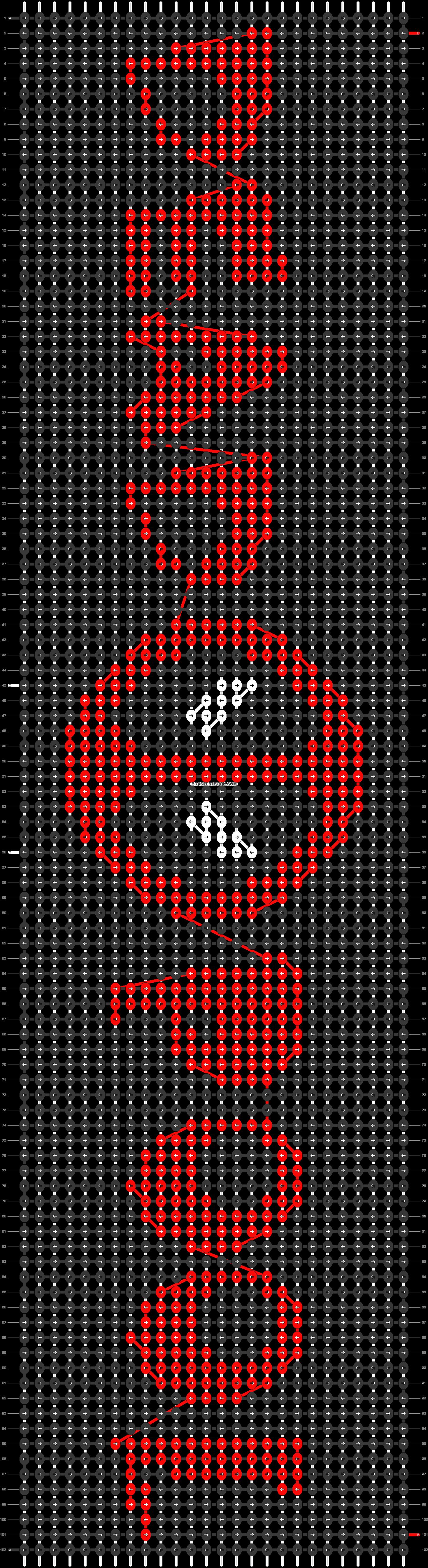 Alpha pattern #20647 pattern