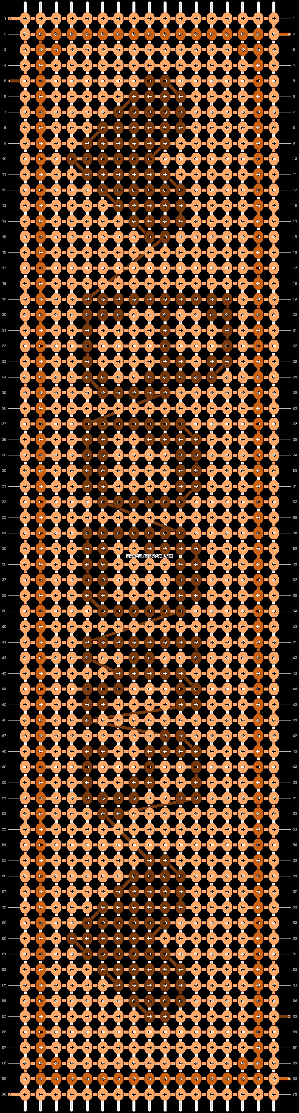 Alpha pattern #20654 pattern