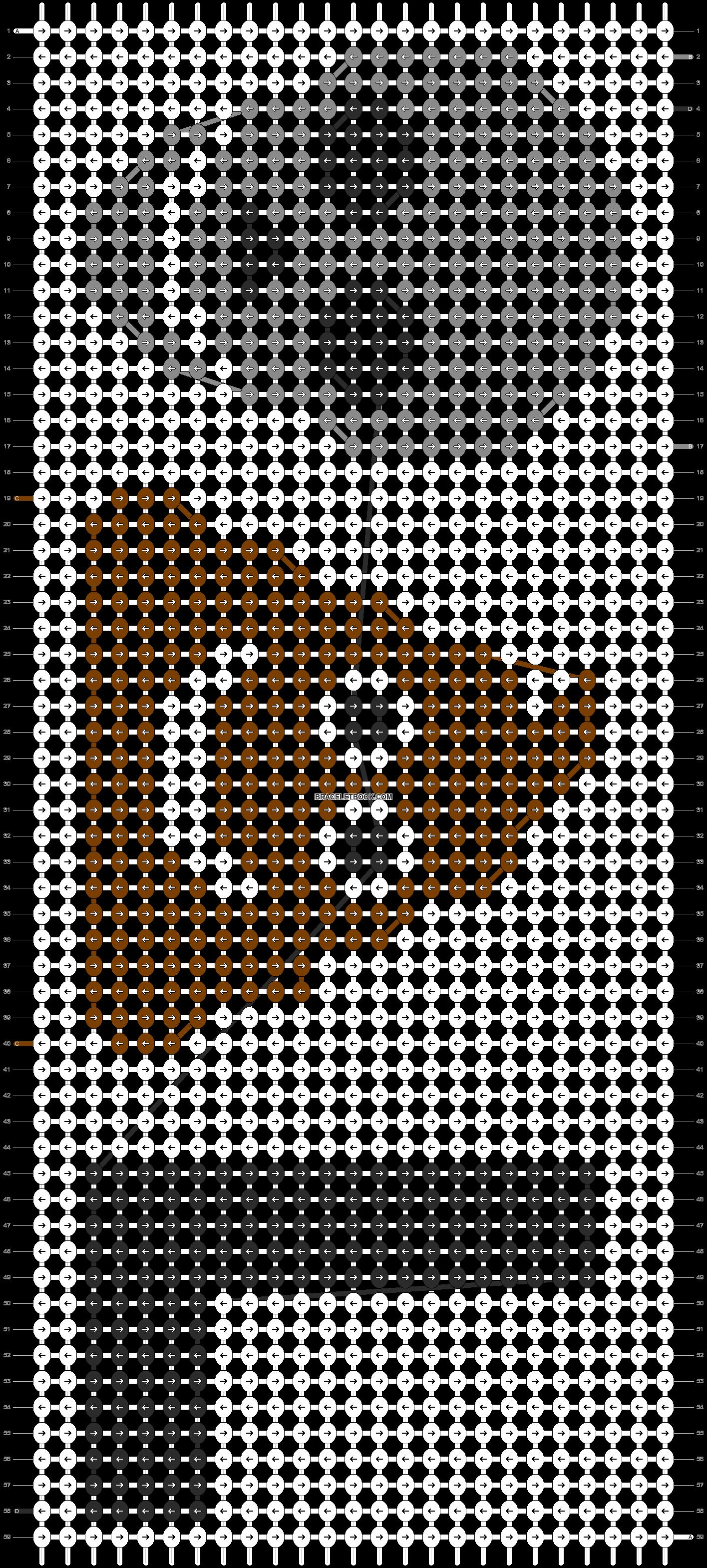 Alpha pattern #20655 pattern