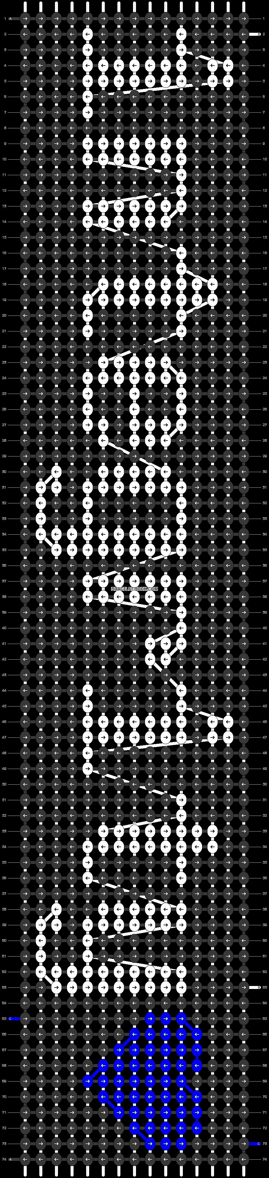 Alpha pattern #20659 pattern