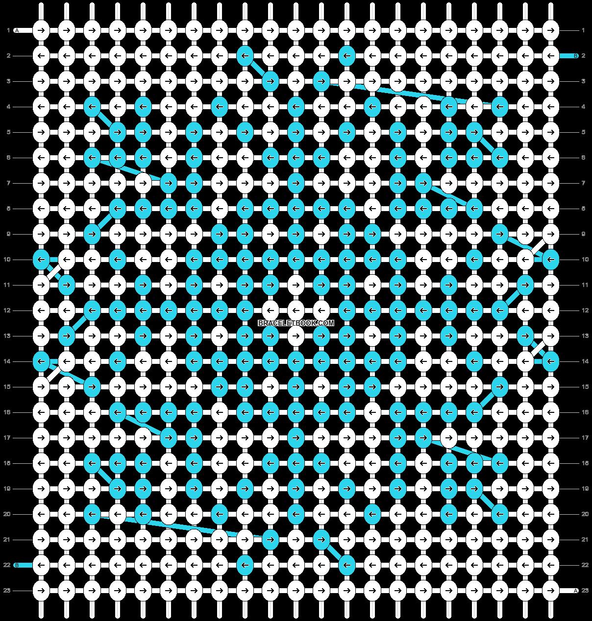 Alpha pattern #20666 pattern