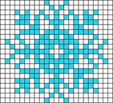 Alpha Friendship Bracelet Pattern #20666