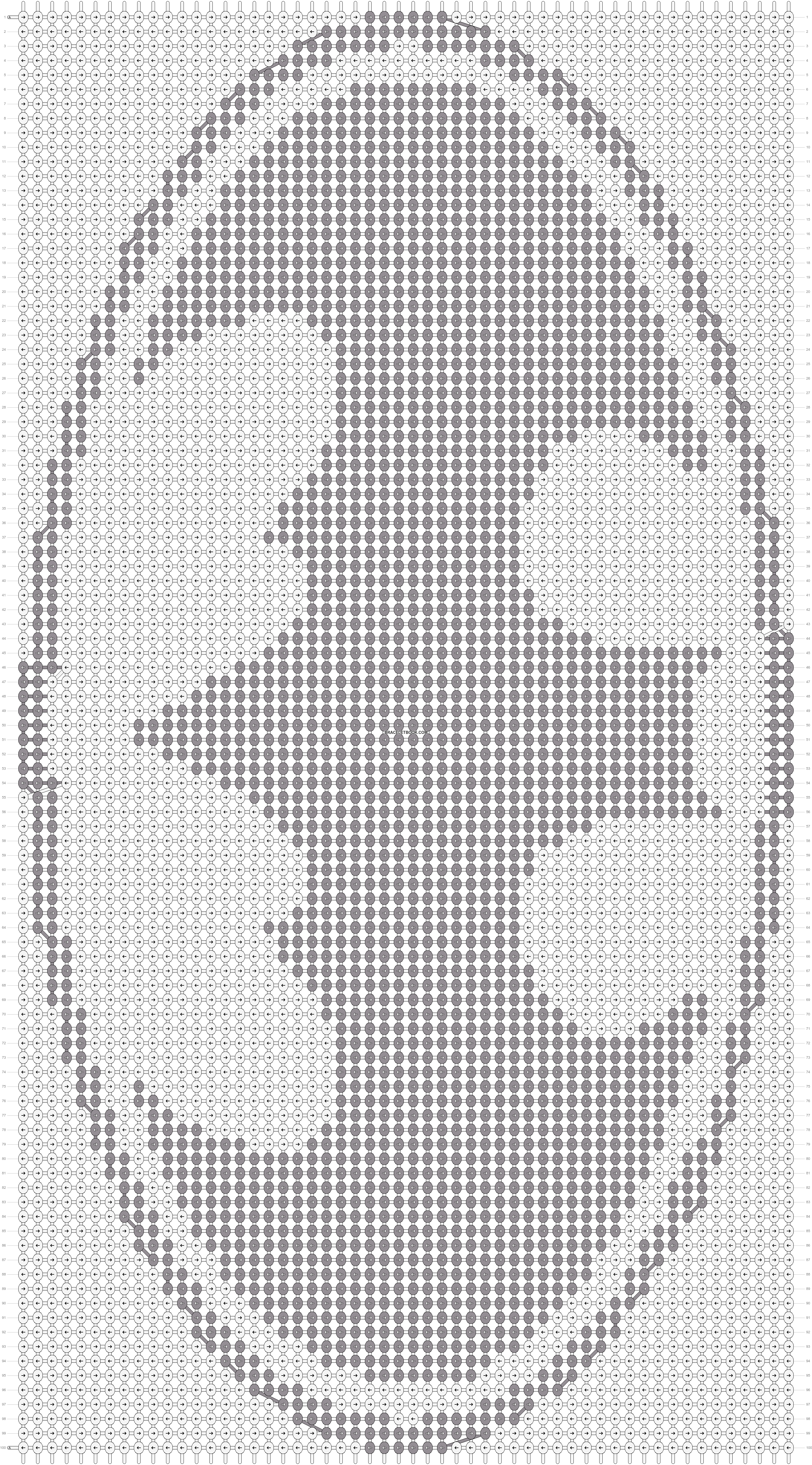 Alpha pattern #20667 pattern