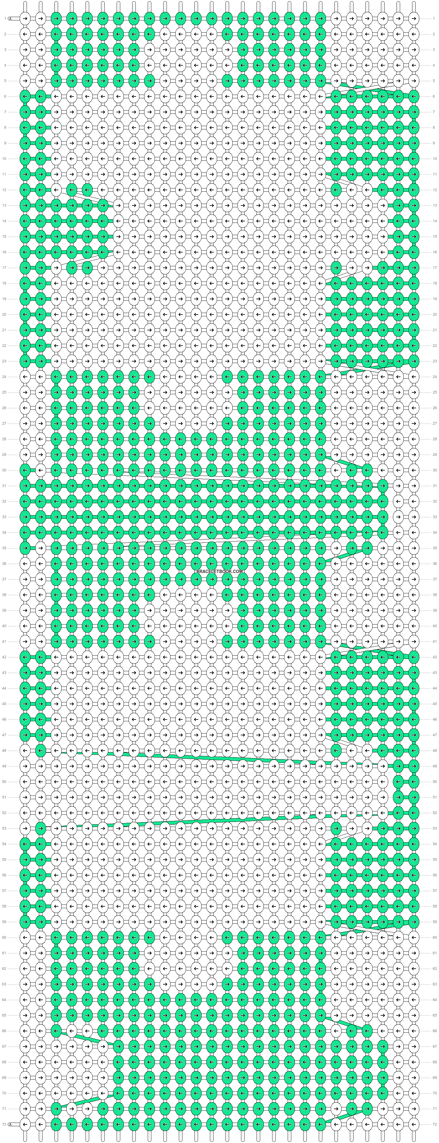 Alpha pattern #20668 pattern