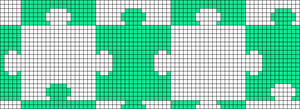 Alpha pattern #20668
