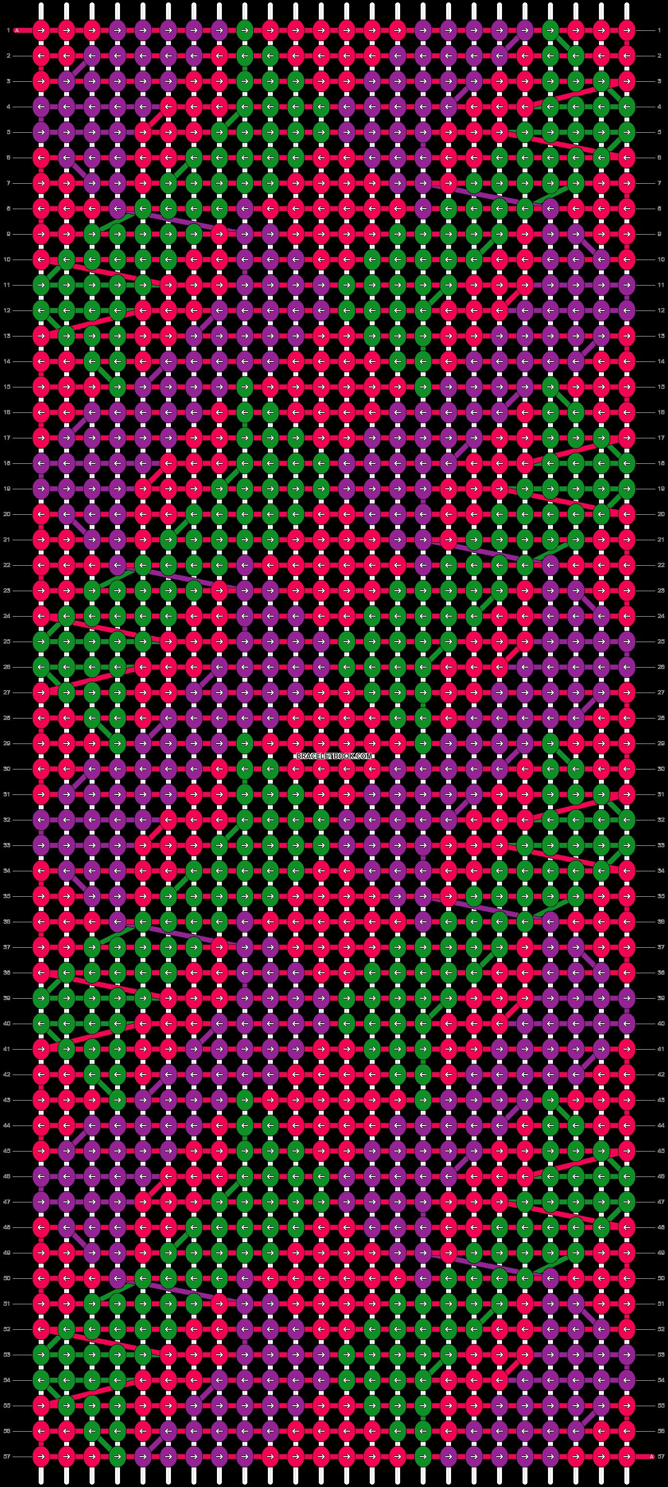 Alpha pattern #20669 pattern