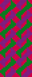 Alpha Friendship Bracelet Pattern #20669