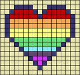 Alpha pattern #20675