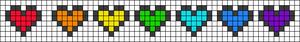 Alpha Friendship Bracelet Pattern #20679