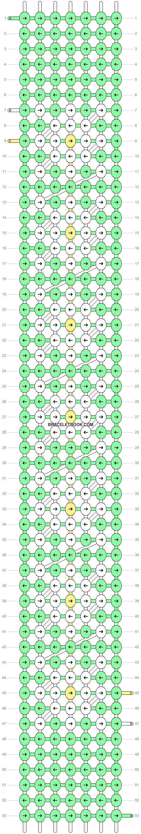 Alpha pattern #20681 pattern