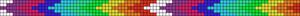 Alpha Friendship Bracelet Pattern #20685