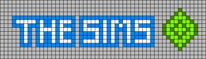 Alpha Friendship Bracelet Pattern #20690