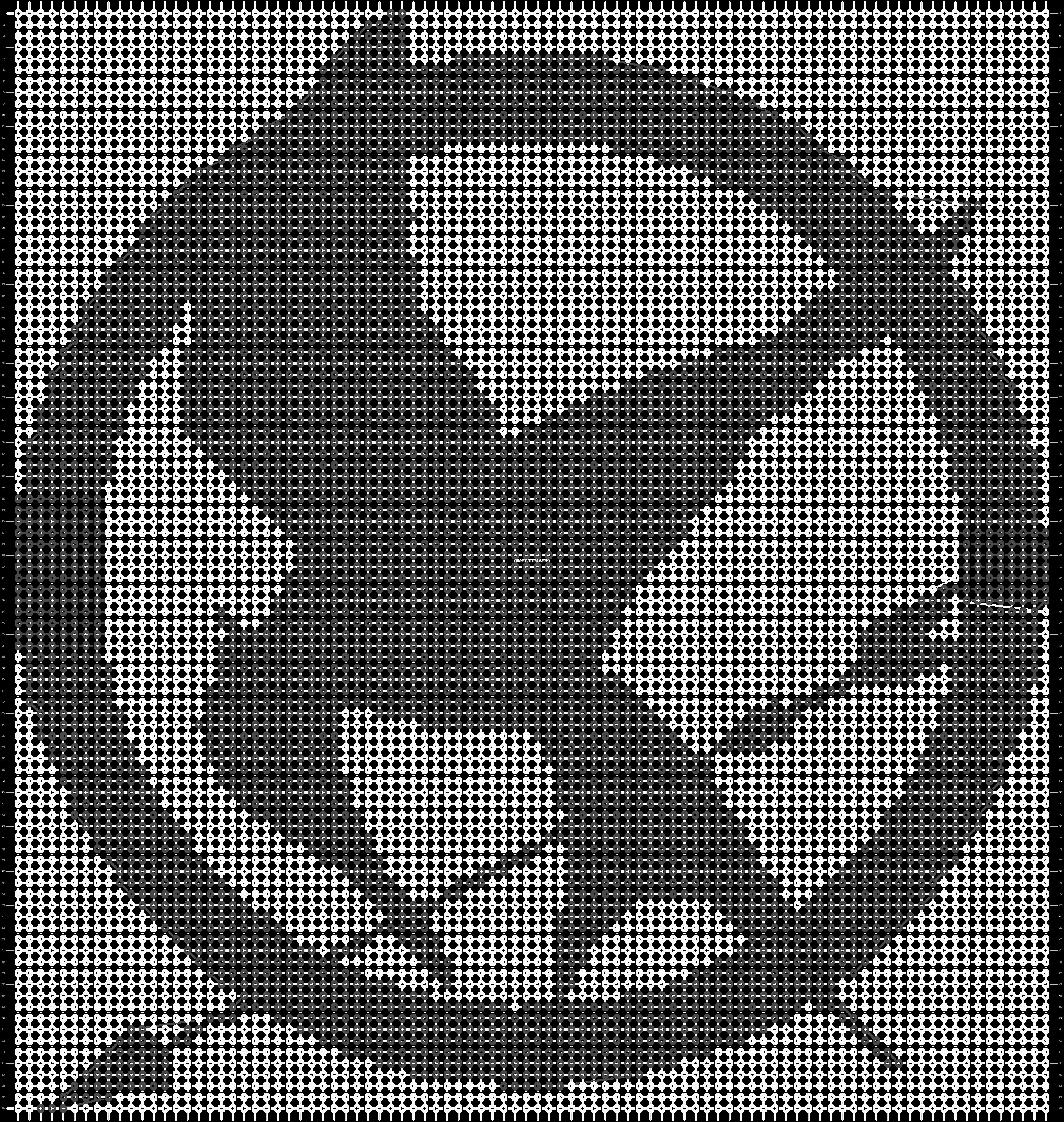 Alpha pattern #20697 pattern