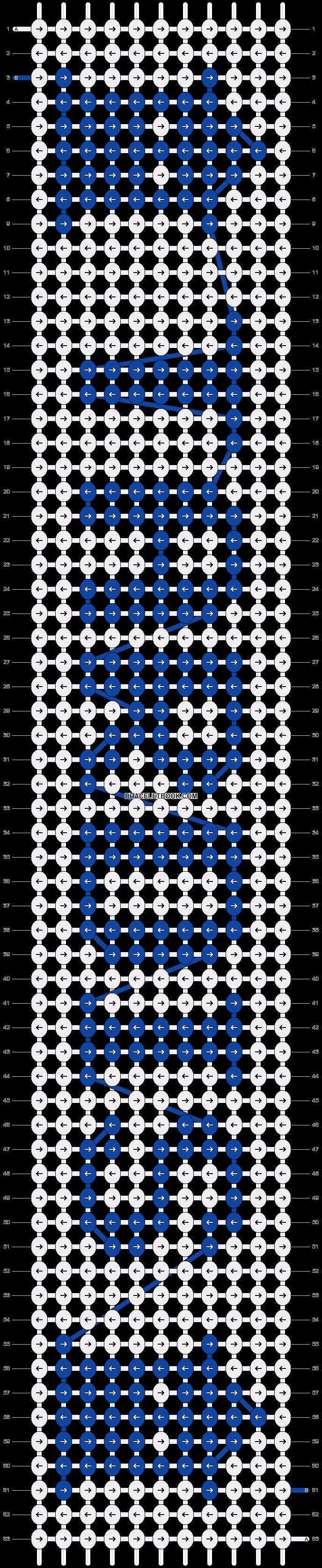 Alpha pattern #20700 pattern