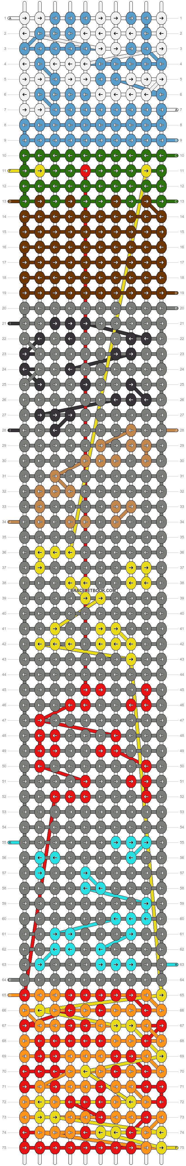 Alpha pattern #20701 pattern