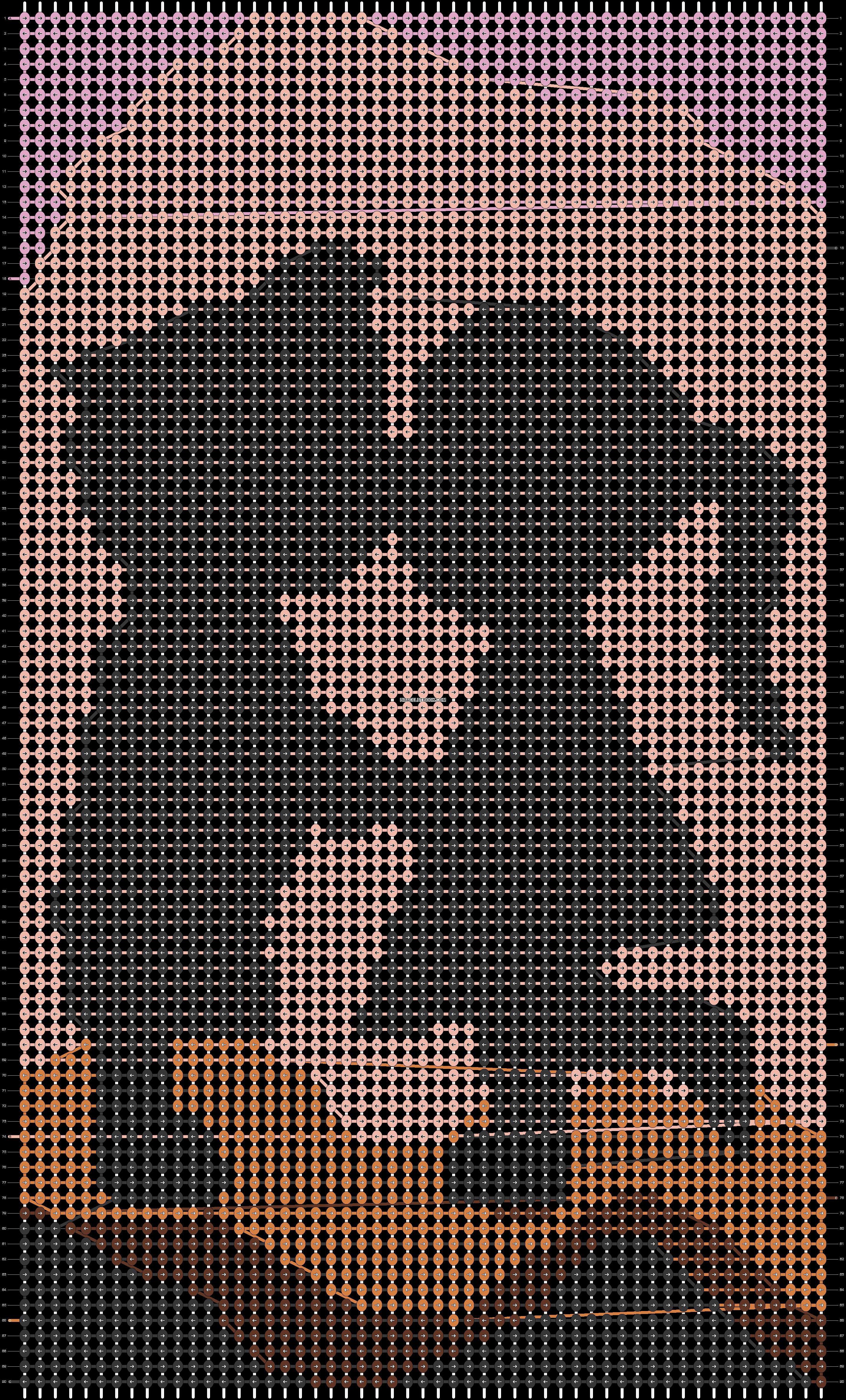 Alpha pattern #20703 pattern