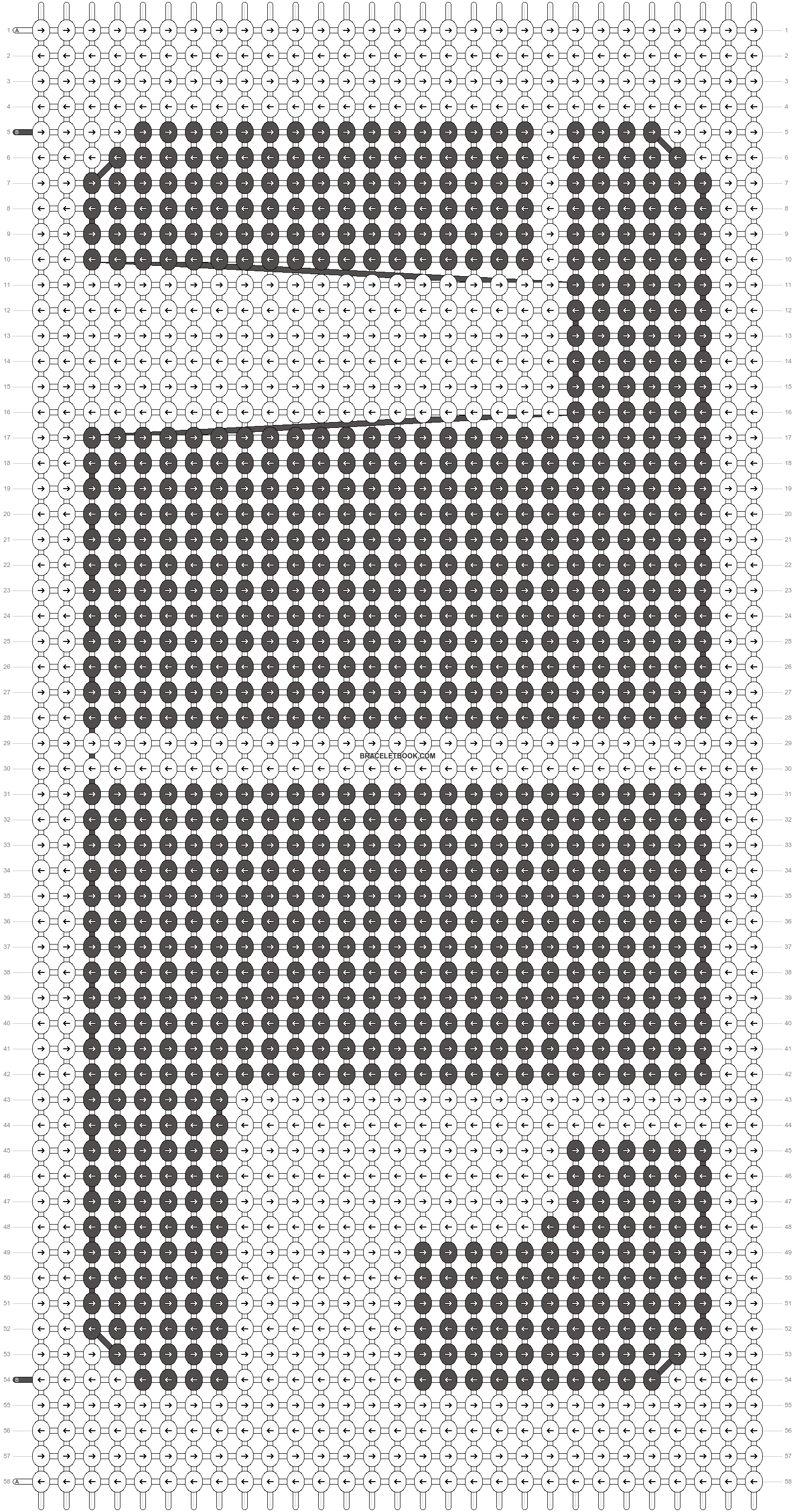 Alpha pattern #20706 pattern