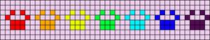 Alpha Friendship Bracelet Pattern #20711