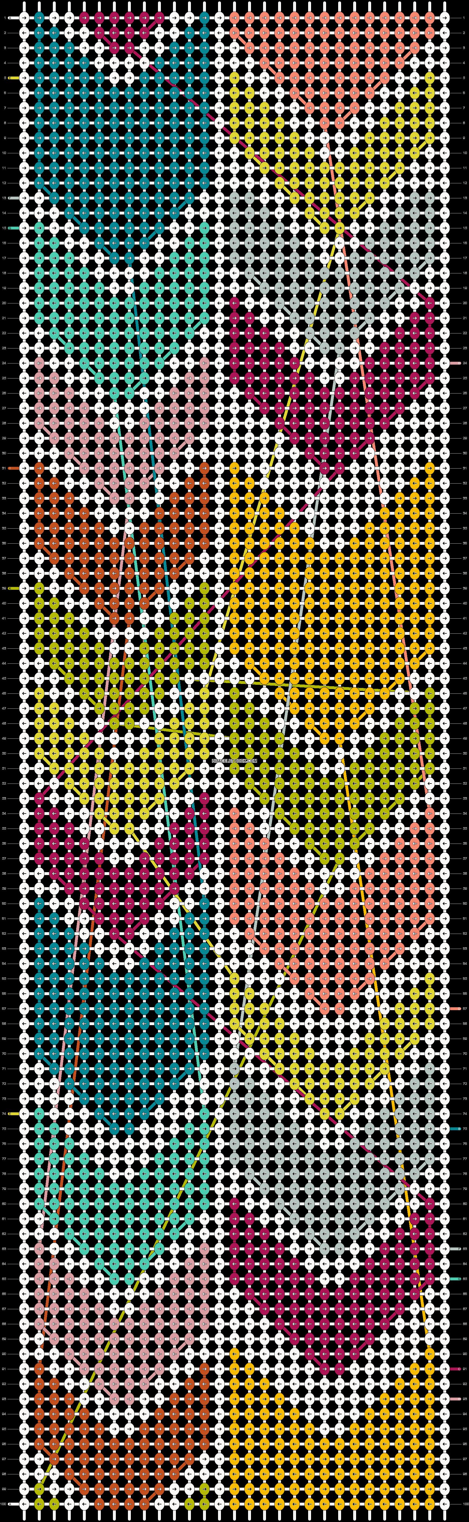 Alpha pattern #20713 pattern