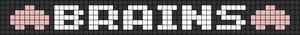Alpha Friendship Bracelet Pattern #20719