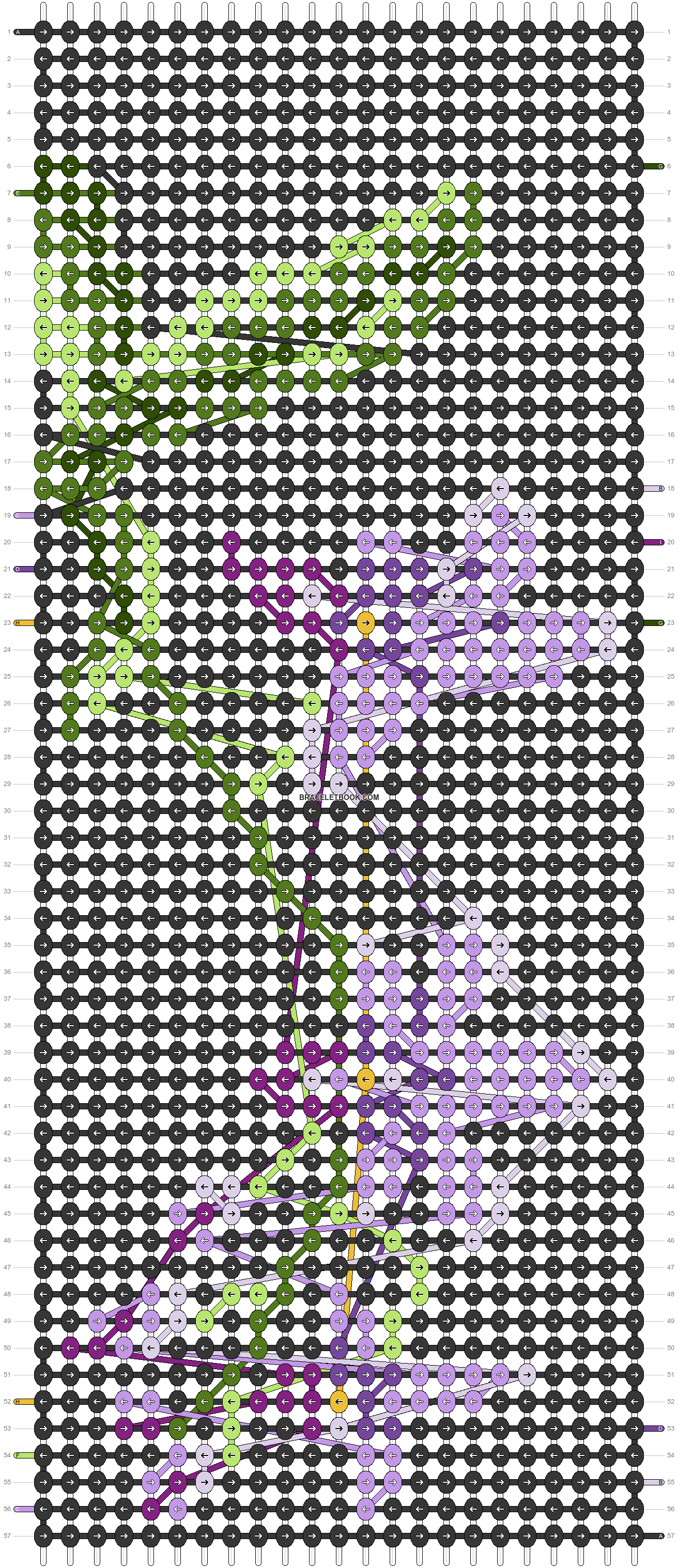 Alpha pattern #20722 pattern