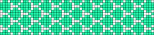Alpha Friendship Bracelet Pattern #20723
