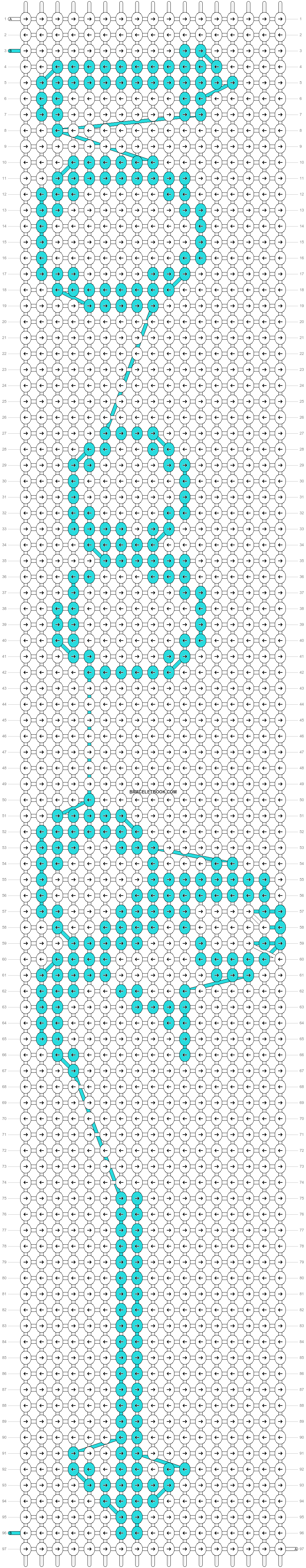 Alpha pattern #20725 pattern