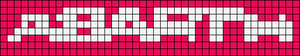 Alpha pattern #20727