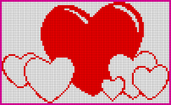 Alpha Friendship Bracelet Pattern #20730