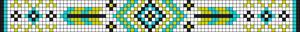 Alpha Friendship Bracelet Pattern #20735