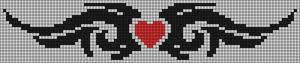 Alpha Friendship Bracelet Pattern #20743