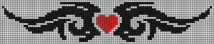 Alpha pattern #20743
