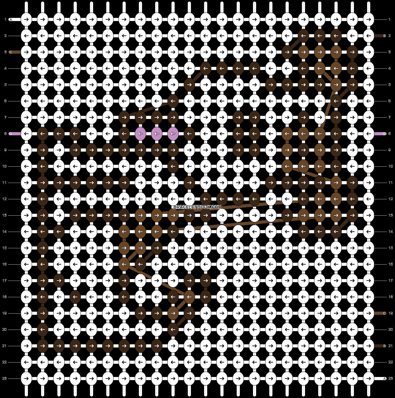 Alpha pattern #20746 pattern
